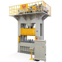 CE Standard H Typ Presse für Aluminium Kochgeschirr Deep Drawing 500t festes Polster