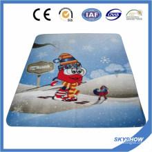 Высокое качество полный печатный флисовой одеяло (SSB0102)