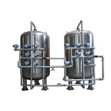 Filtro de água da areia da pressão da planta de tratamento da água