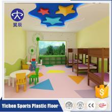 En gros 100% pvc matières premières enfants plancher plancher tapis