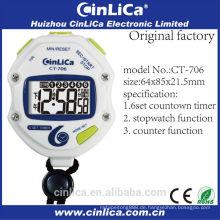 CT-706 Mode Stoppuhren, die günstigste Stoppuhr, Chronographen Stoppuhr