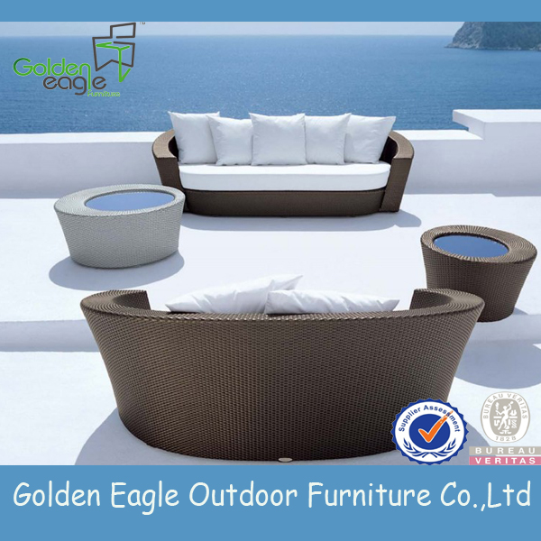 garden outdoor PE wicker furniture webbing