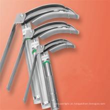 Laringoscópio de fibra óptica de ponta flexível