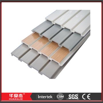 Interior UPVC Vinyl Slatwall Planking Accessories