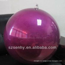 Ornamento gigante de la bola de la Navidad al por mayor