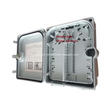 Caja de terminales de conexión de fibra óptica de 12 puertos a prueba de agua