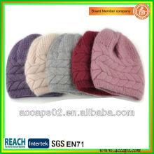 Chapéus de gola de malha de malha de design alto na China BN-2011
