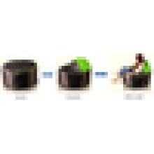 Sofá de sala de sofá bolsa de frijol y otomana impermeable bean bolsas sillas