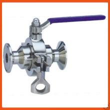 Clamped Non-retention Ball valve