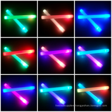 6 modes foam glow stick led sabers