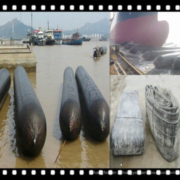 Marine Rubber Airbag movine ship et Construction de bâtiments