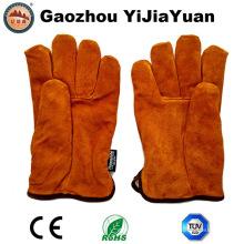 Ab Grado vaca Split cuero invierno conductores guantes para conducir con Thinsulate forro