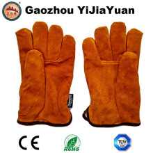 Ab Grade Cow Split Leather Winter Drivers Gloves for Driving with Thinsulate Lining