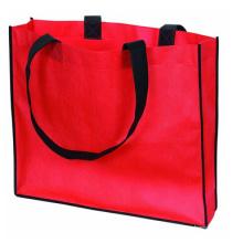 Recycle promotion top quality custom logo bag nylon shopping