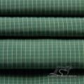 Veste à manches résistant à l'eau et au vent en flan Tissu jacquard 100% polyester tissu de fil d'île de mer (X045)