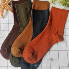 The Fine Quality New Stock Girls Knee High Long cotton Socks  women's new socks