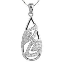 Ожерелье падения шкентеля стерлингового серебра 925 горячего продавая