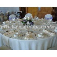 100 % Polyester Tischdecke, Hotel Tischwäsche, Tisch decken