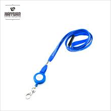 ID Badge Card Holder Reloadable Reel Recoil Lanyard Nome Tag Key Belt Clip