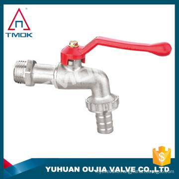 bibcock brass basin faucet waterfall bath brass ball valve taper wall mount bath faucet