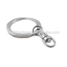 Top Sale Nice Quality Metal Split Ring Swivel Key Chain Ring