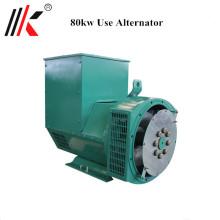 Precio sin hilos automático del generador del alternador de 80kw 100kva generador del precio del dínamo india