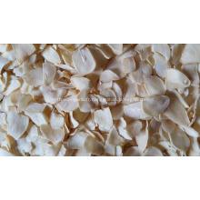Flocons d'ail déshydratés de bonne qualité de Jinxiang