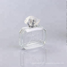 new square shape glass bottle perfume 100ml