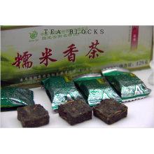 125g Chinês preservar saúde fragrante arroz chá blocos