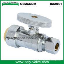 "Personalizada de calidad 1/4 ""Turn Push Connect Válvula de bola recta (IC-1012)"