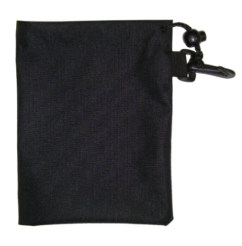 Nylon Drawstring Pouches With Keyring