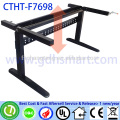 CTHT-F7608 adjustable height office table frame in 2 legs with manual crank
