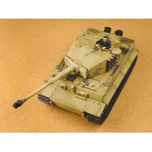 1/24 batalla infrarroja juguete de tanque de plástico