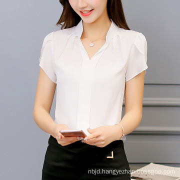 New Style Hollow out Lace Women Blouse Sexy Blouse Woman Loose Cotton Top