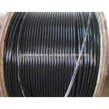 ABC Conductor de aluminio / aleación XLPE Aislamiento de antena Bunded Cable ABC