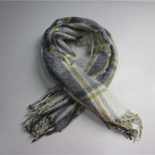 Promotional Cheap Woven Scarf med tofsar