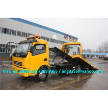 2015 EuroIII or EuroIV Factory Price Dongfeng DLK 4 ton tow truck,4x2 towing truck