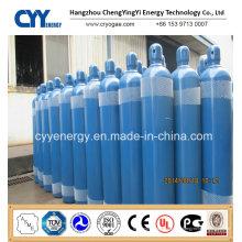 Hochwertiger und niedriger Preis Flüssiger Stickstoff-Sauerstoff-Kohlendioxid-Argon Nahtloser Stahlzylinder