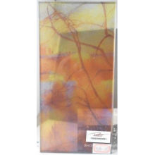Laminated Digital Printed Glass / Decorative Colored Glass For Light Box