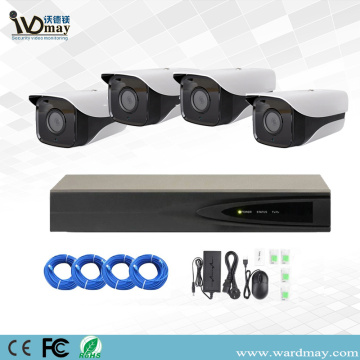 4CH 3.0MP Starlight Bullet Camera PoE NVR Kits