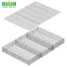 Hot-sale Galvanized Welded Gabion Basket Steel Wire Mesh