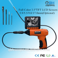 3.5 inch TFT monitor video snake endoscope borescope camera 3mm industrial endoscope