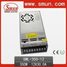 Fonte de alimentação LED 350W 12V 30A usada para monitor