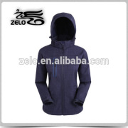 Trendy design high quality fit softshell jacket for women windproof
