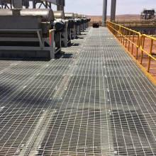 Rejilla de acero galvanizado para piso industrial