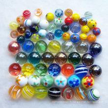 Vente de marbres de verre à haute qualité