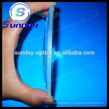 conduit les fabricants de lentille concave de verre optique plano en Chine