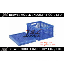 Durable Plstic Folding Crate Mold