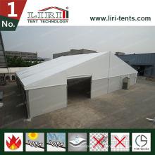 Barracas de Rubb Hall para armazenamento, estruturas de barraca de armazém temporárias para armazenamento
