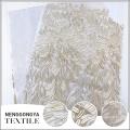 Oem à la mode maille douce robe de soirée brodée tissu